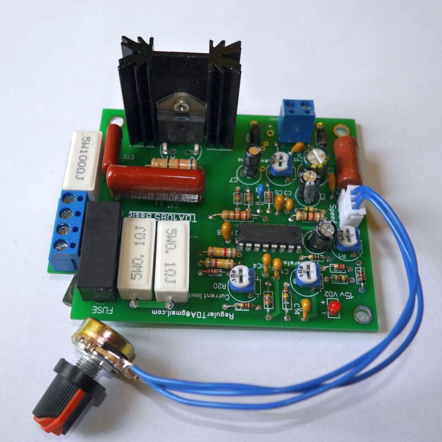 Набор для пайки, Регулятор TDA1085 оборотов и мощности