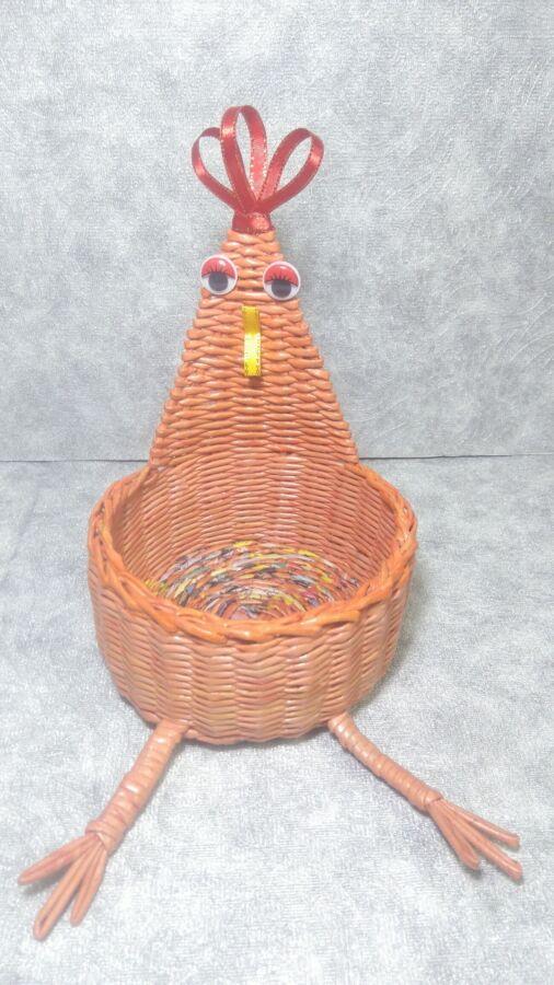 Курочка шкатулка (ручная работа)