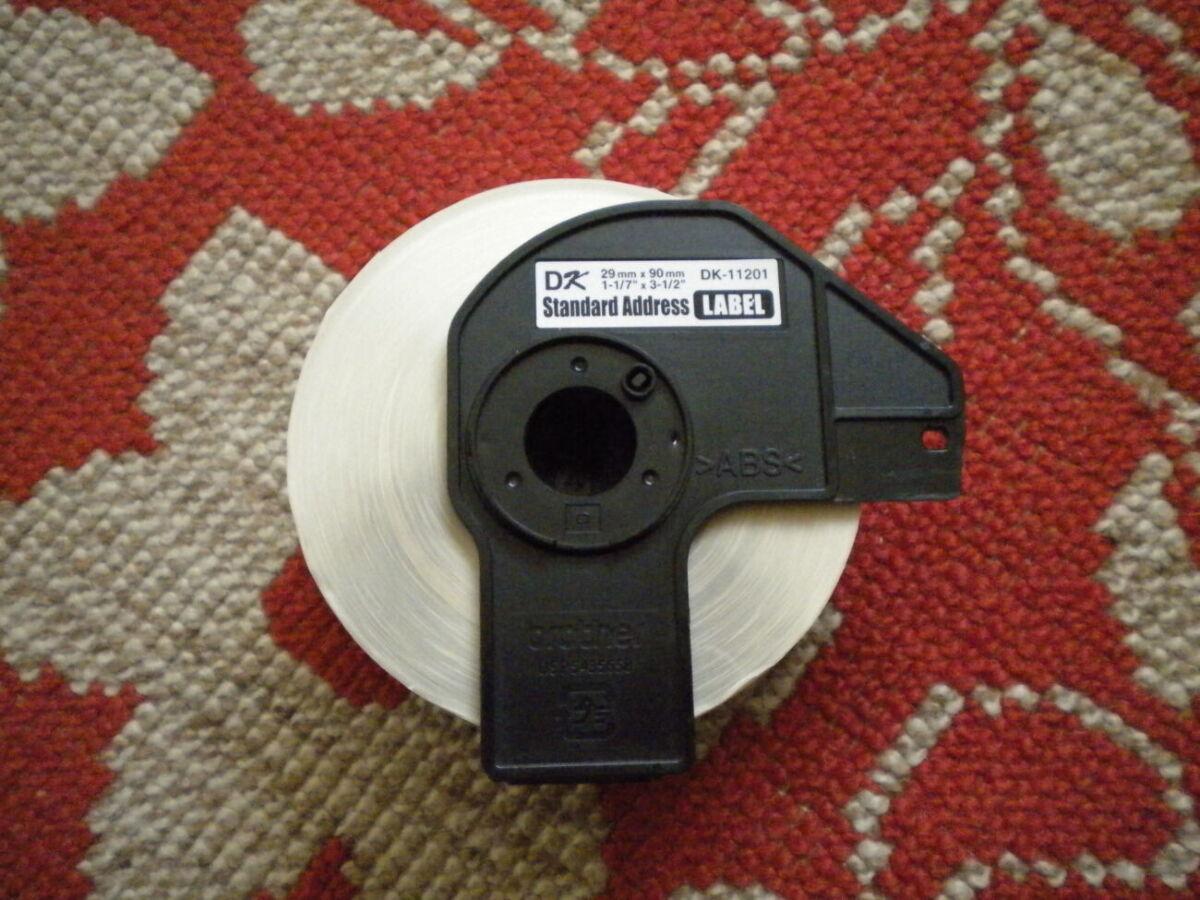 Термопапір оригінальний Brother Dk-11201 термобумага наклейки