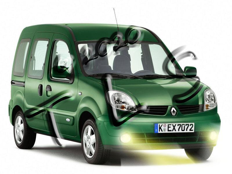 Противотуманки, туманки для Renault Kangoo '03-09 (Рено)