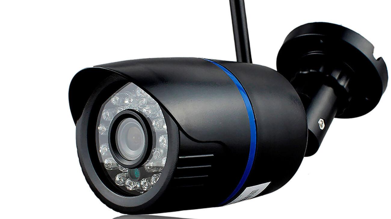 Уличная WIFI камера  1mp (1280-720)/micro SD/ИК подсветка
