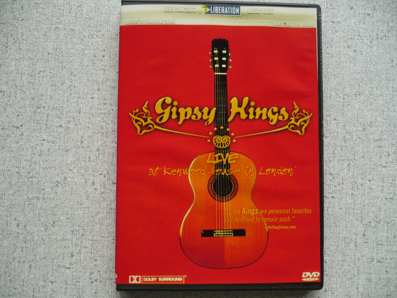 Gipsy Kings - Live at Kenwood Hause in London. dvd
