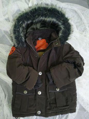 Куртка осень-зима на меху 1,5-2,5 года (р.86-92) Besta plus