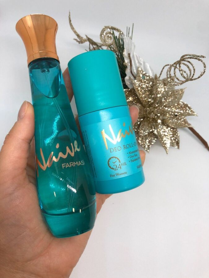 Naive  При покупке женского аромата получай скидку 50% на  мужской
