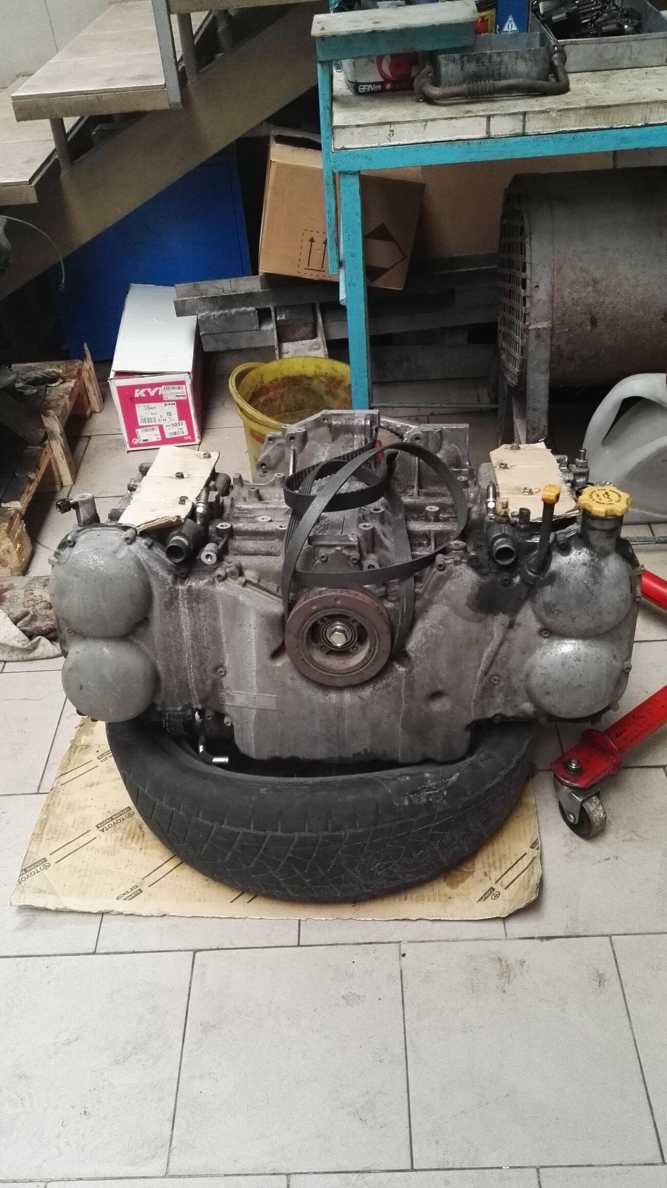 Продам двигатель Subaru Tribeca 3.6