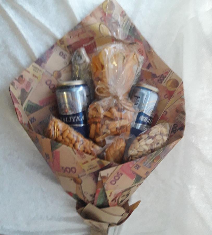 букетики для сладкоежек) для настоящих мужчин)