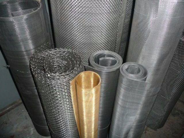 Сетка тканая нержавеющая 10,0-1.0 мм