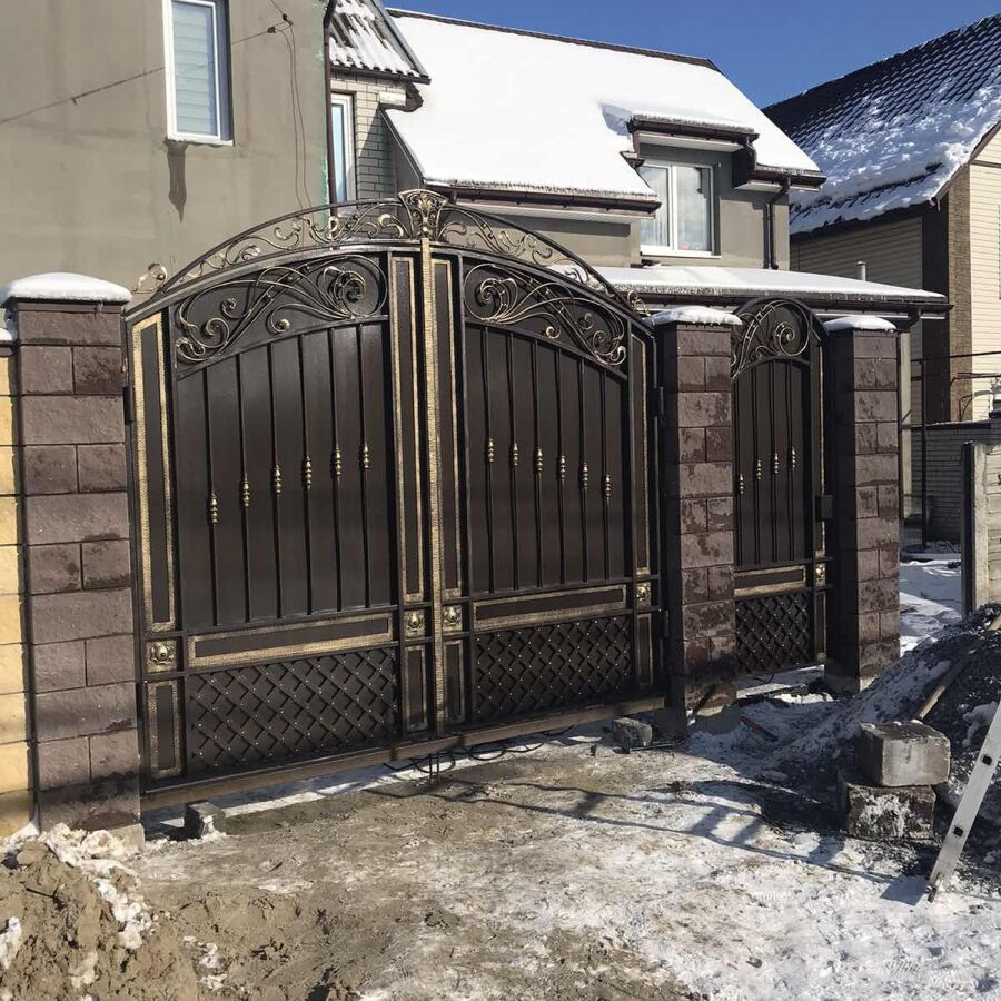 Ворота,калитка кованые