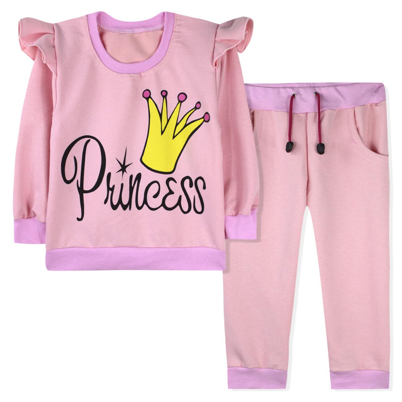 Костюм для девочки, розовый. Принцесса