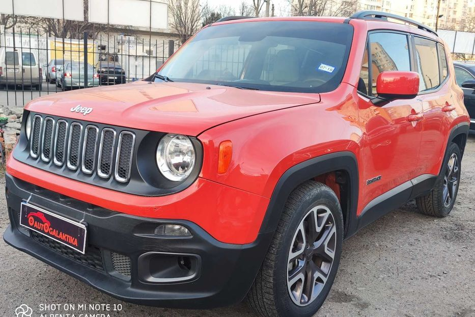 Разборка Jeep Renegade BU (2014-2019)