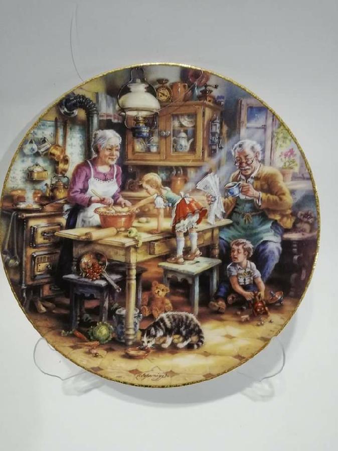 Оригинальная декоративная Коллекционная тарелка