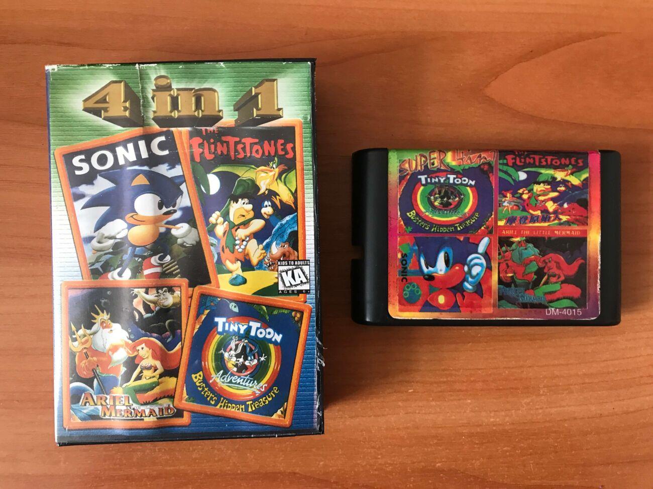 Картриджи Sega 16 бит