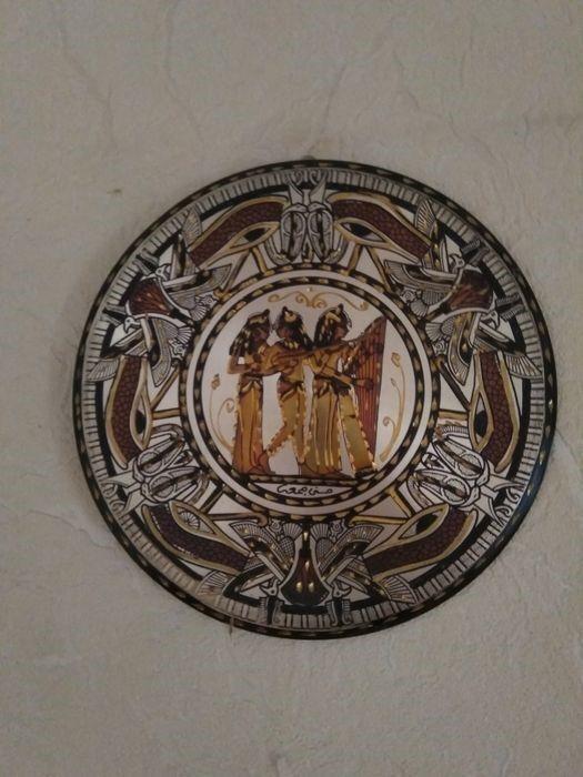 чеканка Тарелка 30 см Египет, охраняет дом и создаёт уют