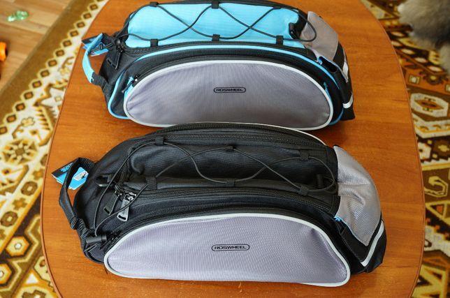 Сумка на багажник ROSWHEEL, спортивная сумка, сумка на плечо