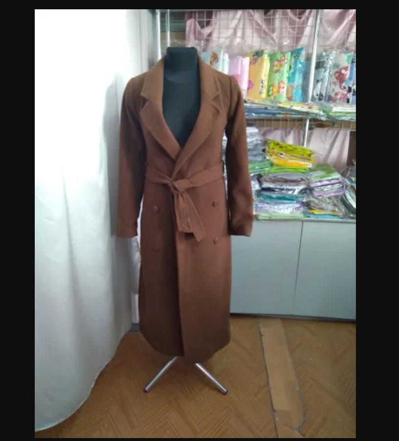 Пальто шерсть Кемел