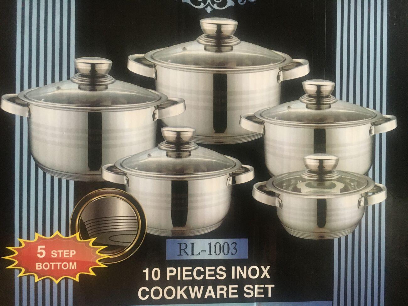 Набор посуды Royalty Line 10 пр