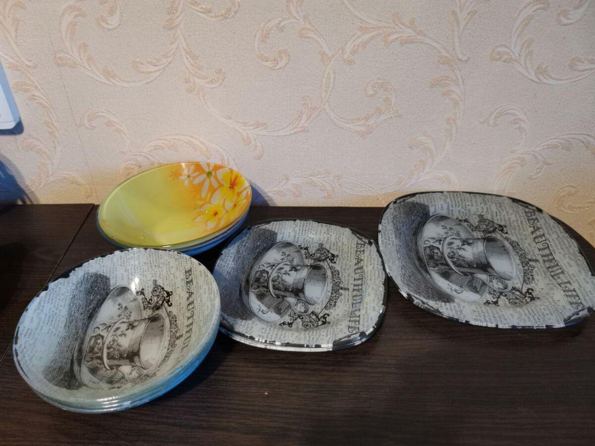 Стеклянная и керамическая посуда