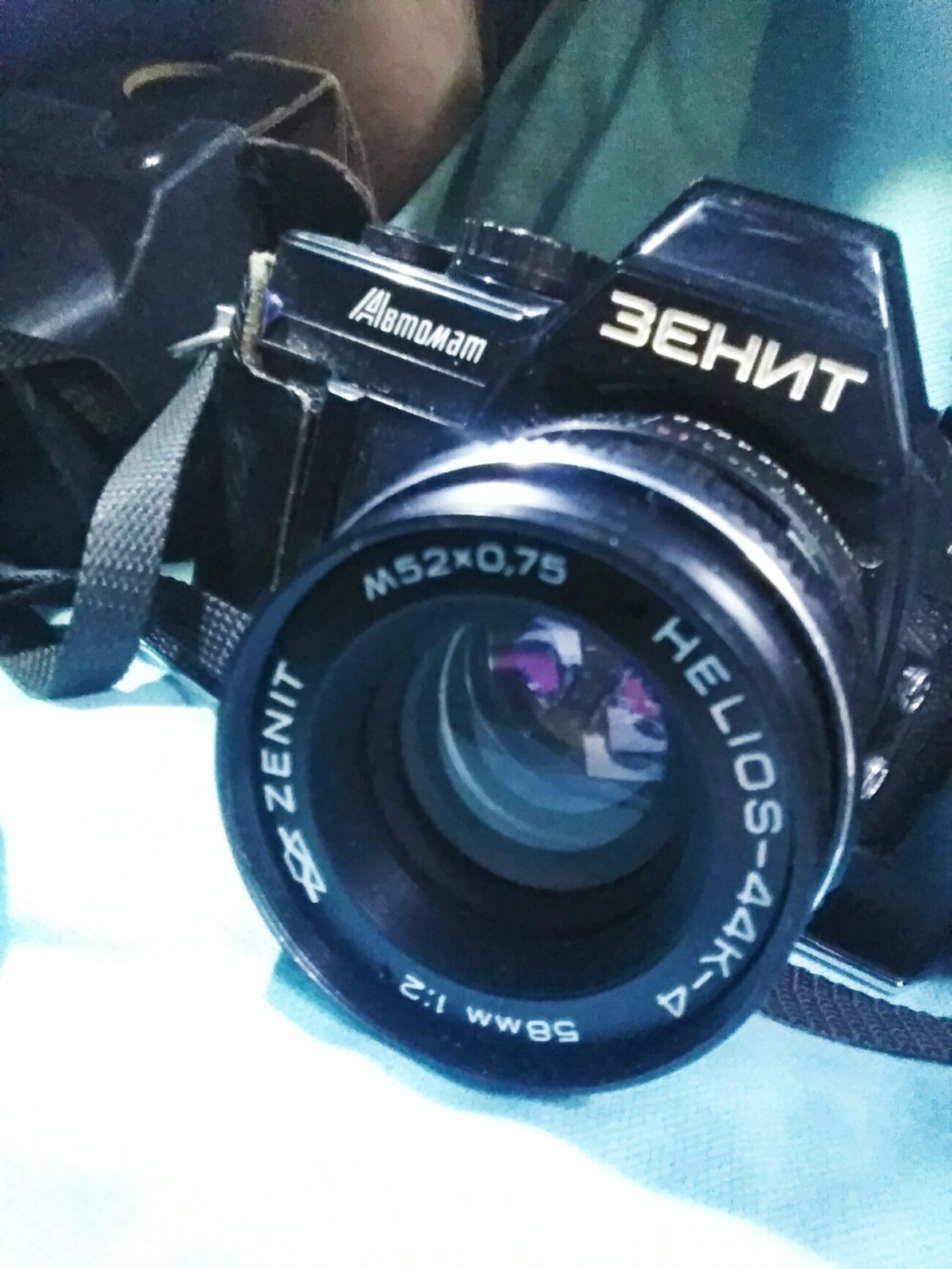 вдвое меньше, фотоаппарат зенит автомат фотографии всегда