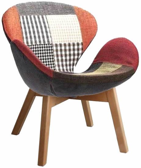 Кресло pechvork кресло Сван пэчворк, за 1 шт