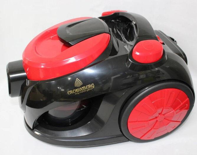 Контейнерный, Мощный Пылесос Vacuum Cleaner Crownberg CB 659 3500