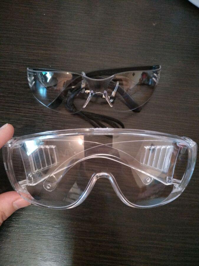 Очки защитные открытые поликарбонатные