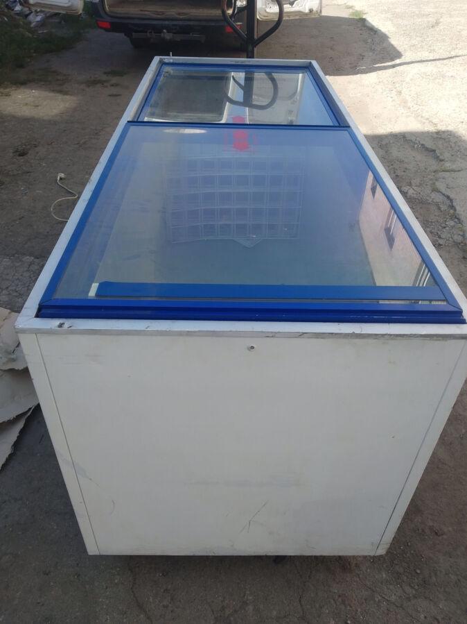 Морозильная камера, морозильный ларь, Морозильная витрина