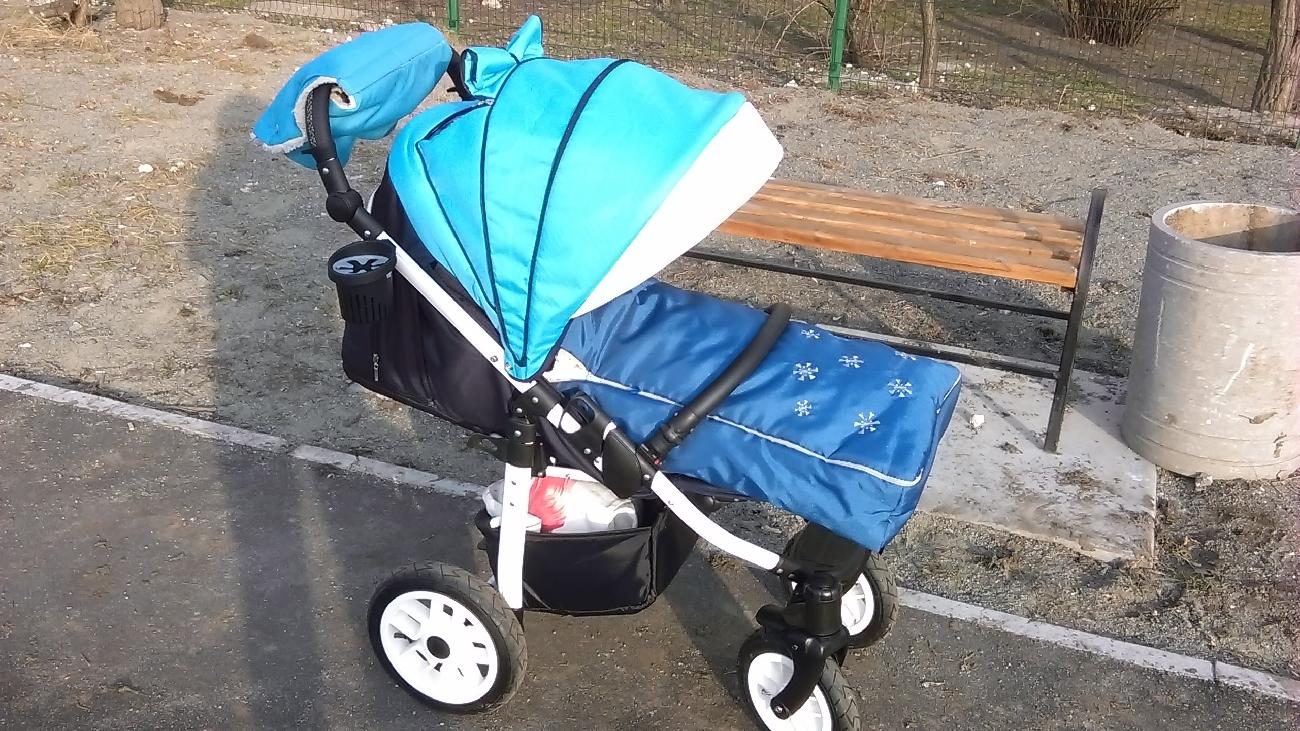 Продам Прогулочную коляску Camarelo EOS(сумка,конверт,муфта, дождевик)