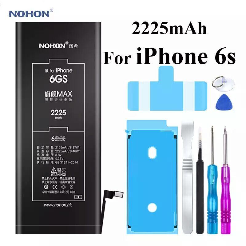 Аккумуляторная батарея NOHON для Iphone 6S 2225mAh +инструмент