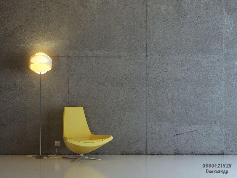 Лофт декоративна штукатурка майстер Луцьк дизайн.