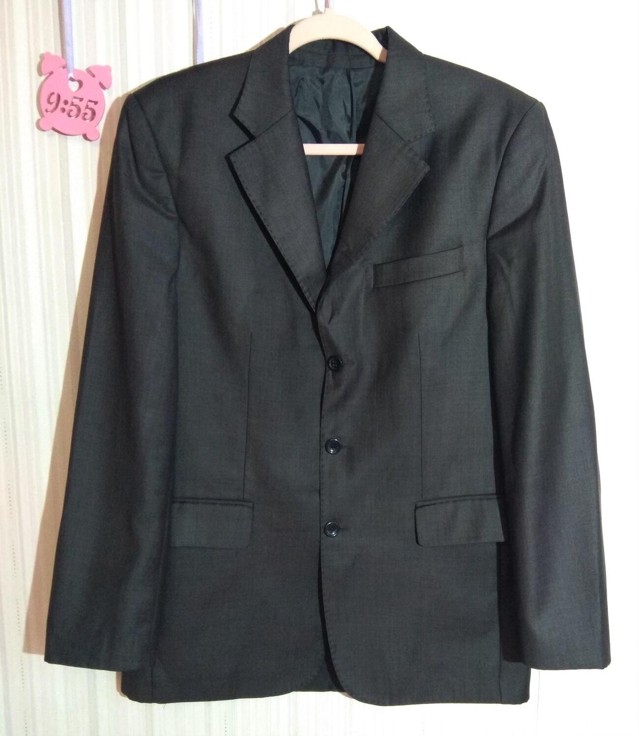 """Серо-коричневый пиджак ТМ """"Antoni Zeeman"""" размер 48"""