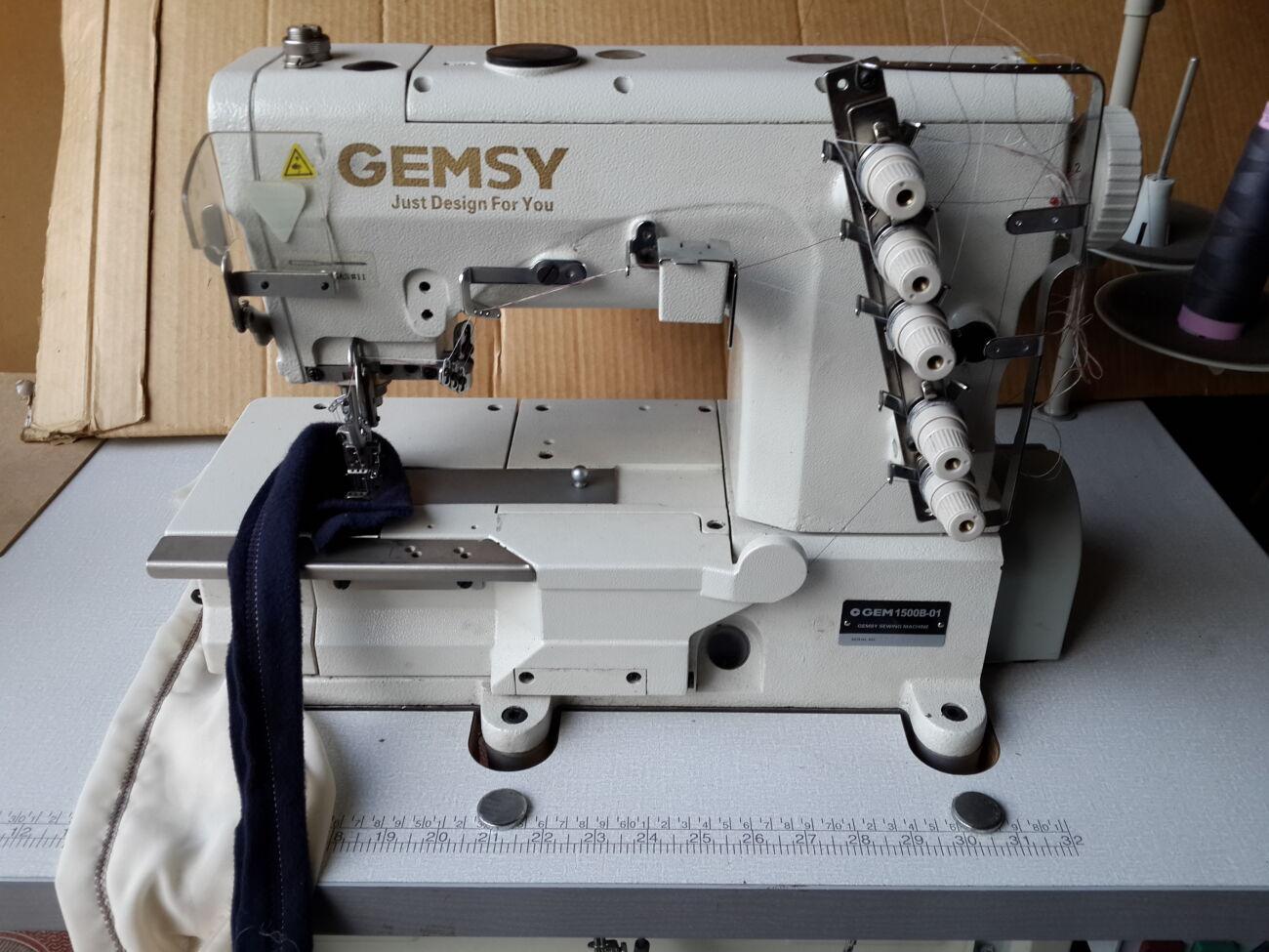 Швейная машина Gemsy-1500B Джемси Распошивальная Распошивалка.