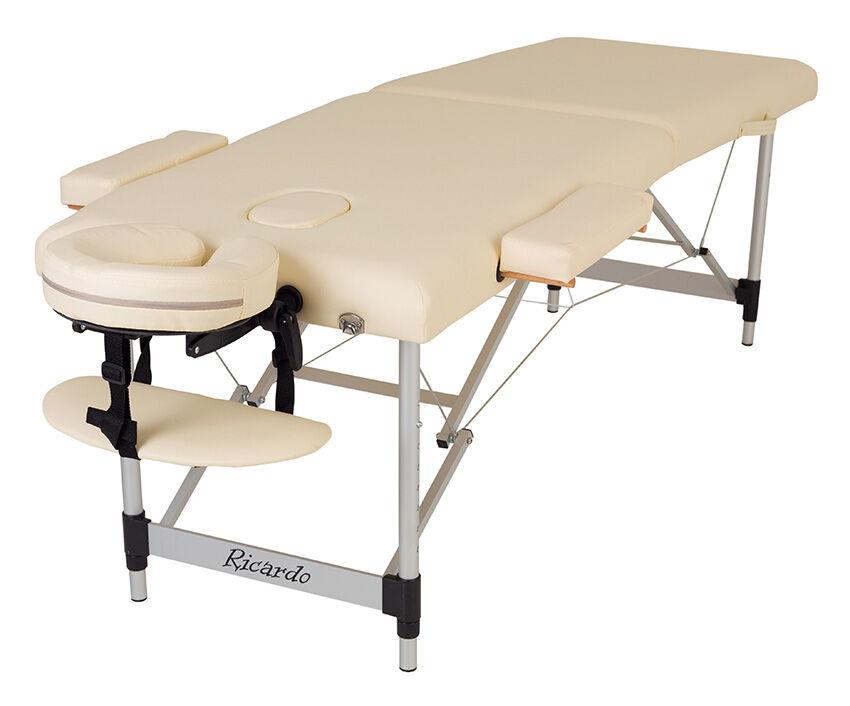 Массажный стол алюминиевый Ricardo MODENA-60