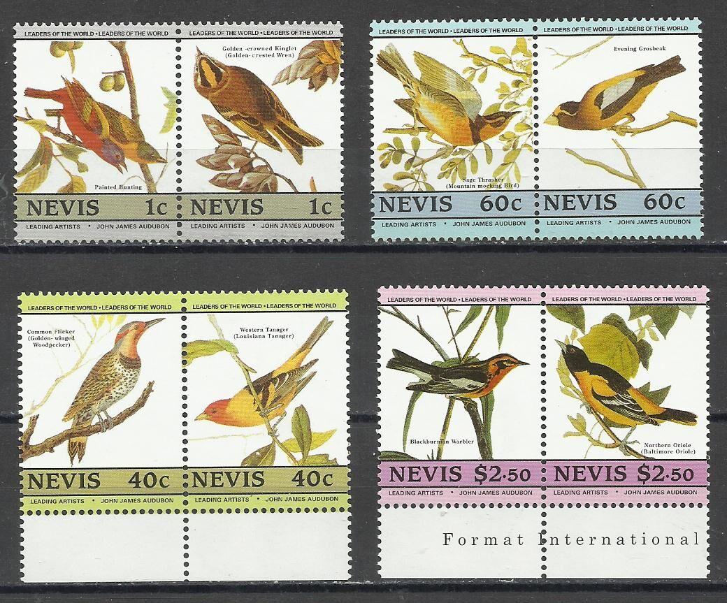 Продам марки Карибских  островов  (Невис) 1985 Фауна