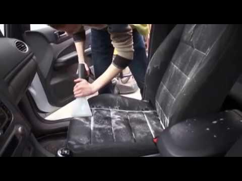 Выездная химчистка салона автомобиля