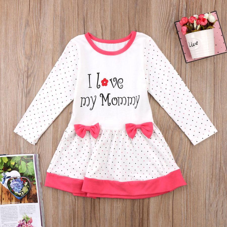 Детское Платье для девочки xLOVEx Одежда для малышей