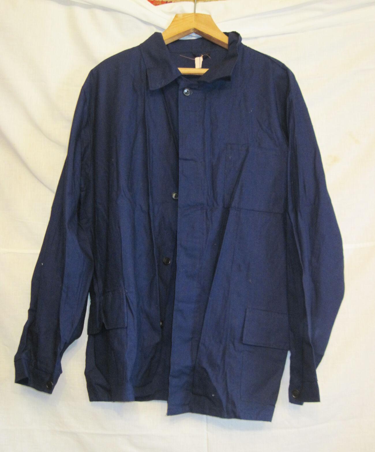 Комплект курка рабочая и брюки темно-синие мужской