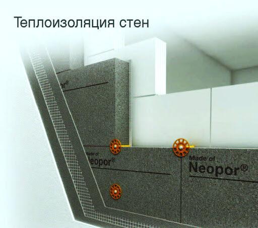 Утеплитель Neopor от BASF, EPS 70