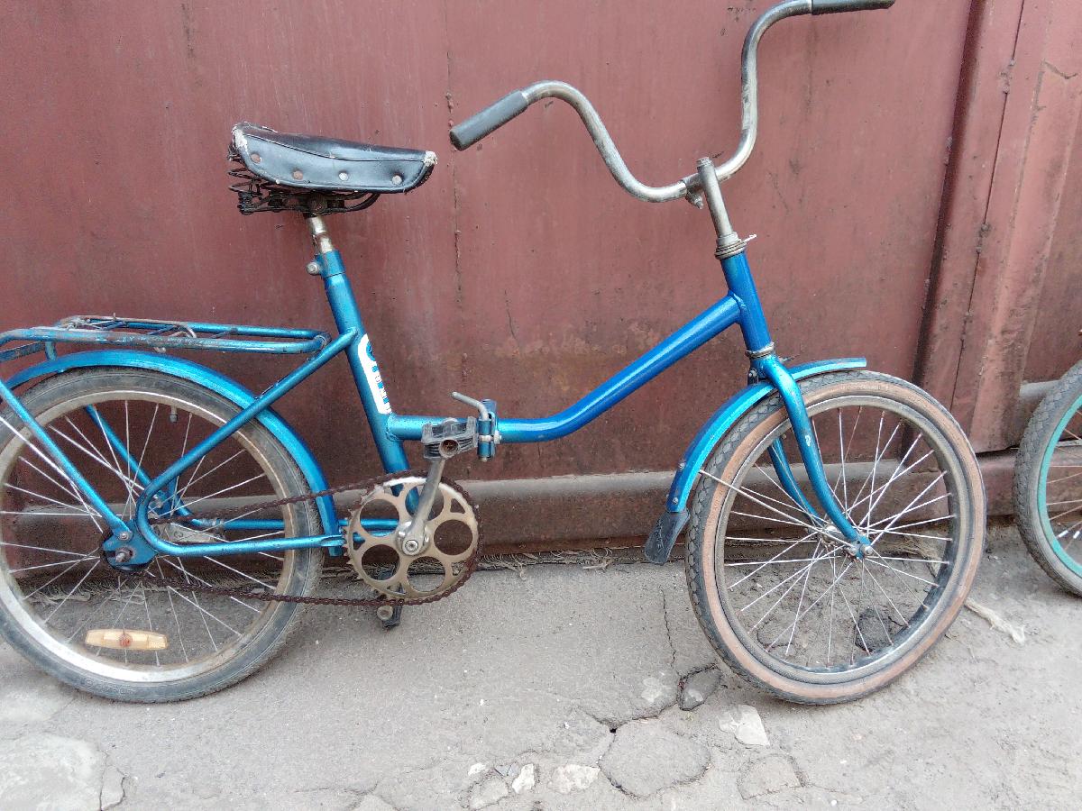 Велосипед складной СССР колеса 20