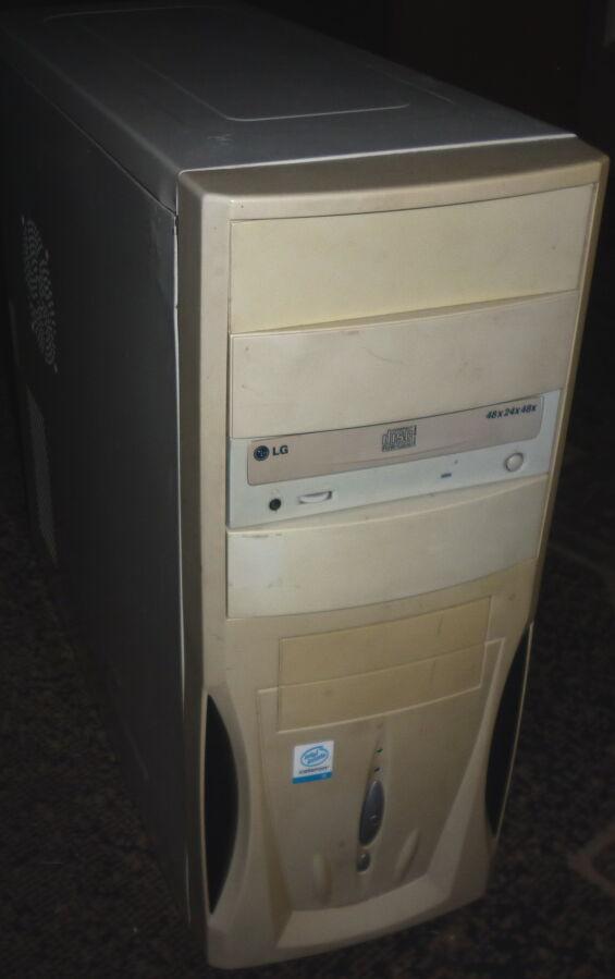 Продам системник (Asus P4GE-MX, сокет 478)