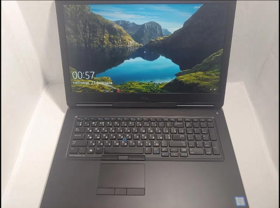 Ноутбук Dell 7710HQ Core i7-6820 DDR4-16GBQuadro-M3000M NVMe-256GB
