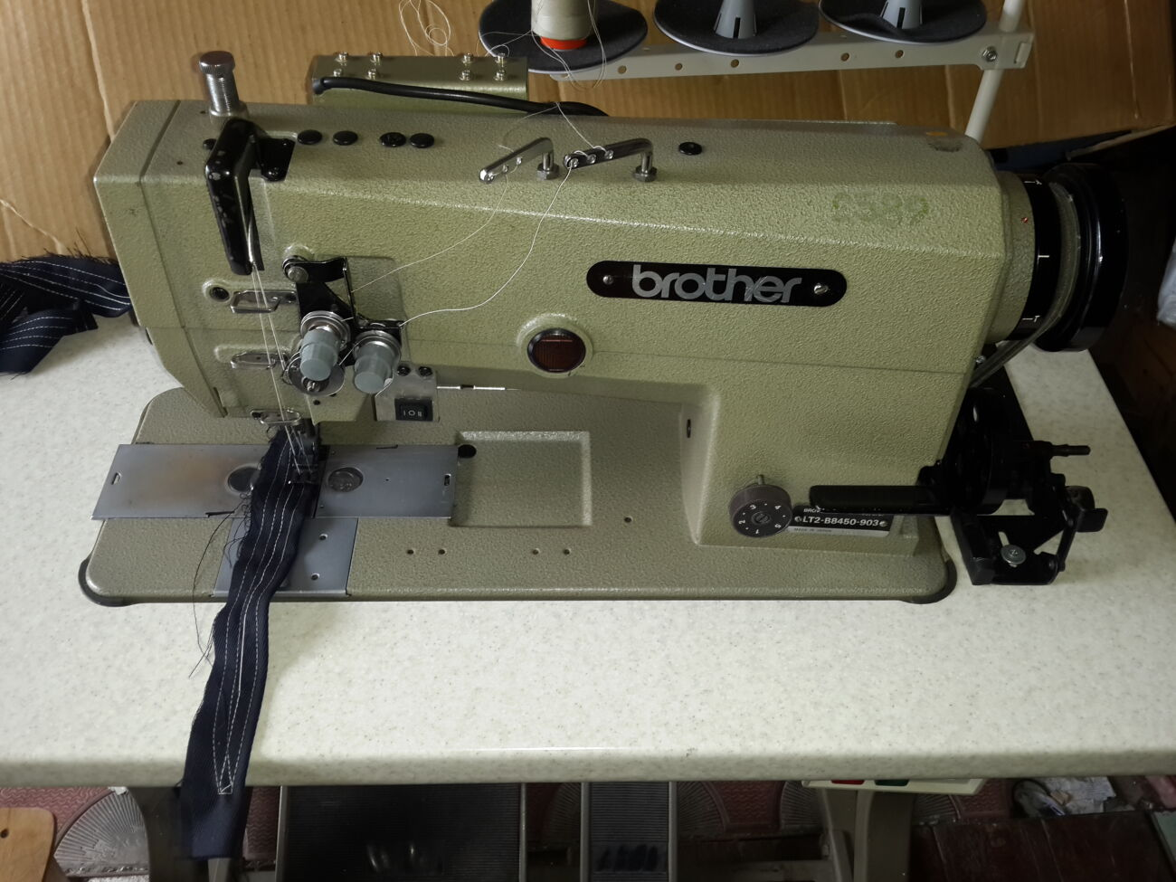 Швейная машина Brother B8450 Бразер Двухигольная 6.4 с отключением