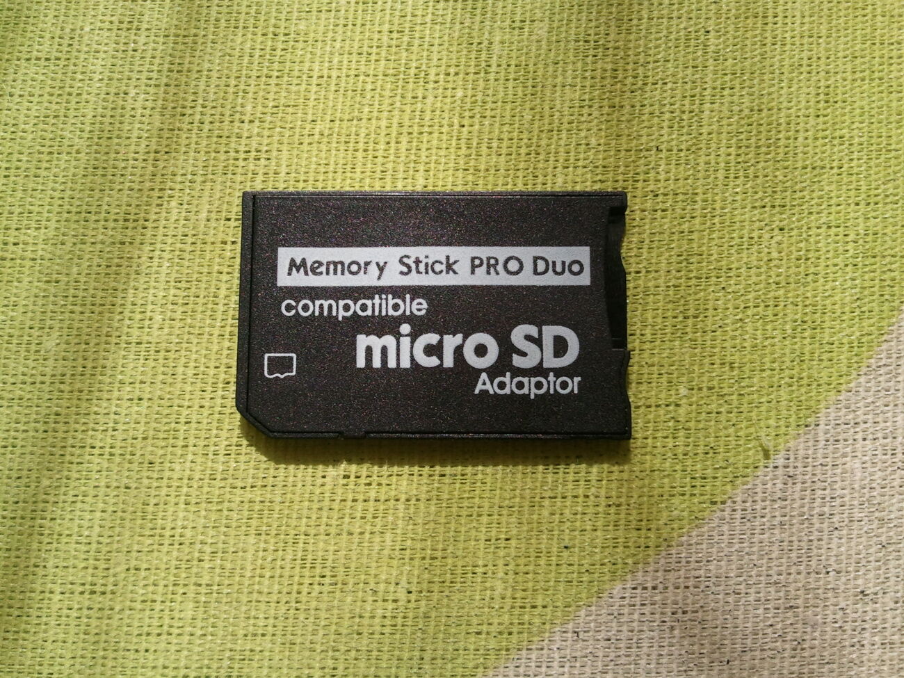Адаптер Micro SD TF в MS Pro Duo, переходник для PSP Sony