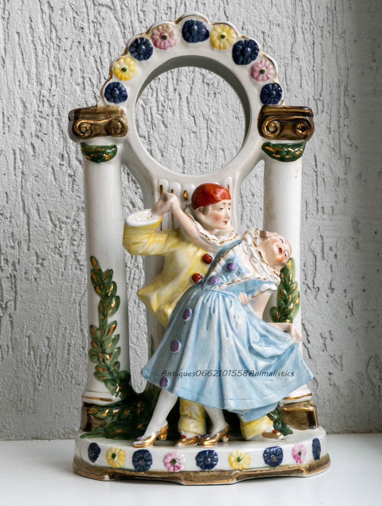 Фарфоровая статуэтка подчасник Германия Gräfenthal Пьеро танец