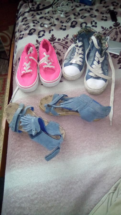 обувь детская в наличии 7 пар