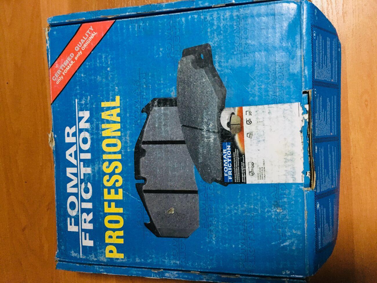 Комплект тормозных колодок FOMAR FRICTION (Оригинал SAF) FO276081PRO