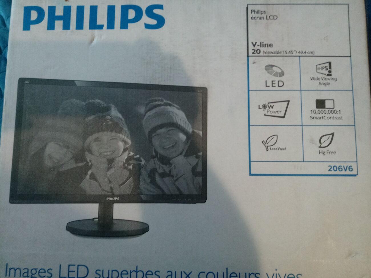 Монитор Philips 206V6