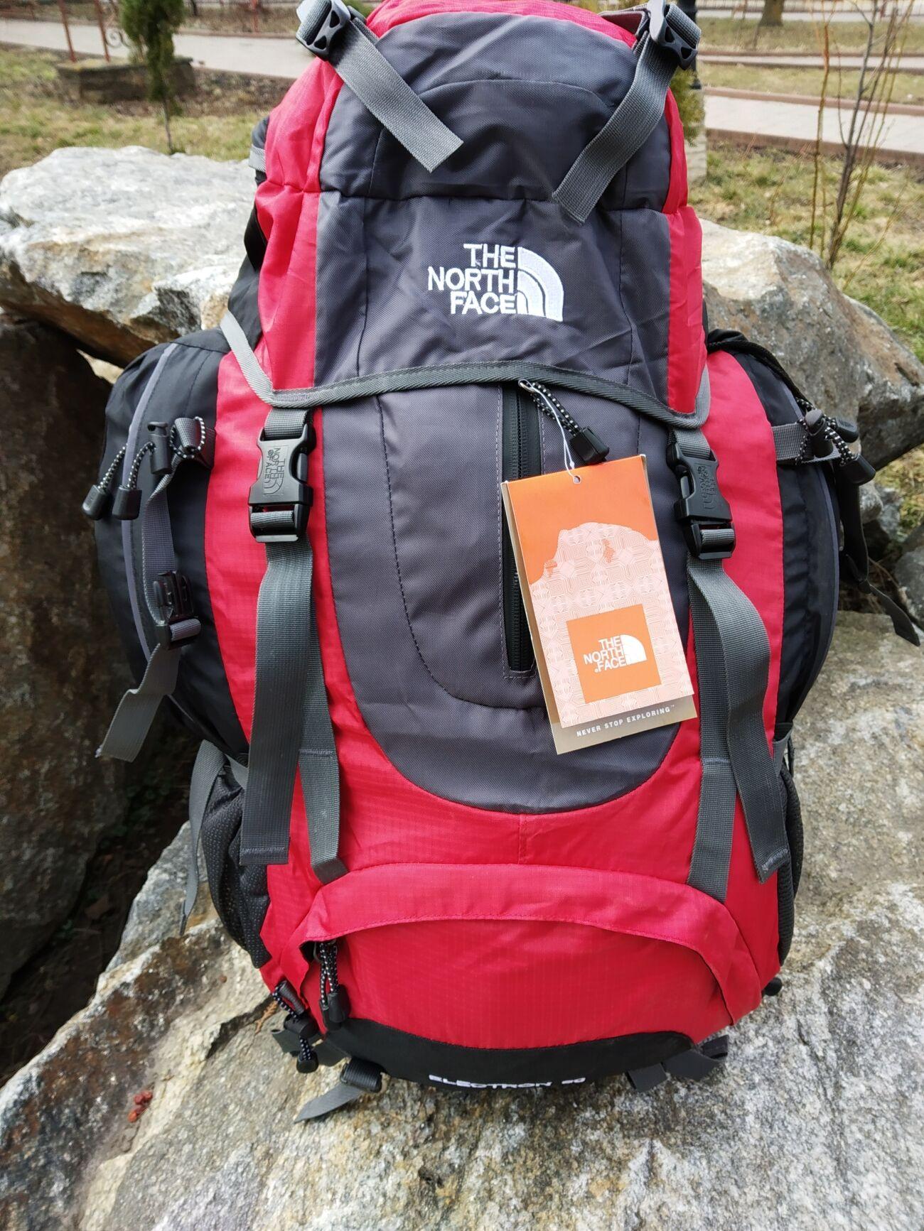 туристический рюкзак Electron 60L с каркасной спинкой
