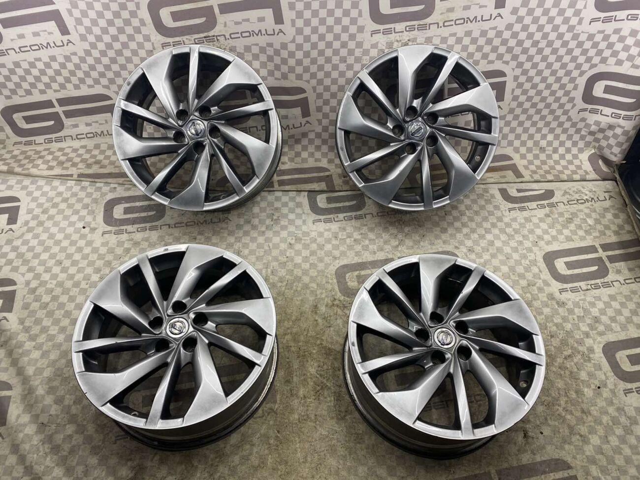 Оригинальные диски 18 5.114.3 на Nissan Pathfinder, X-Trail! G-Felgen