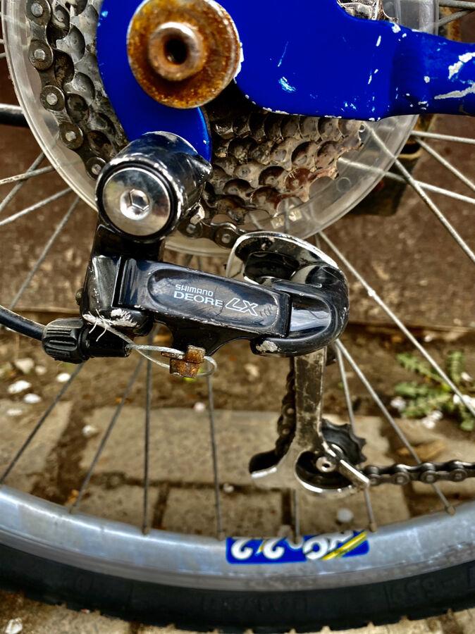 Велосипед алюминиевый 26 Shimano deore lx Германия