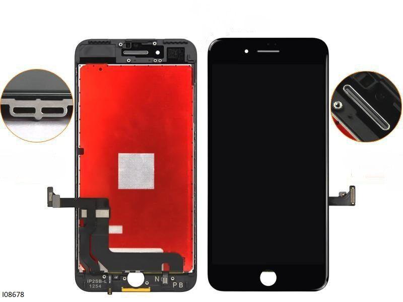 Дисплейный модуль для IPhone 7 Plus LCD+touchscreen black orig (TEST)